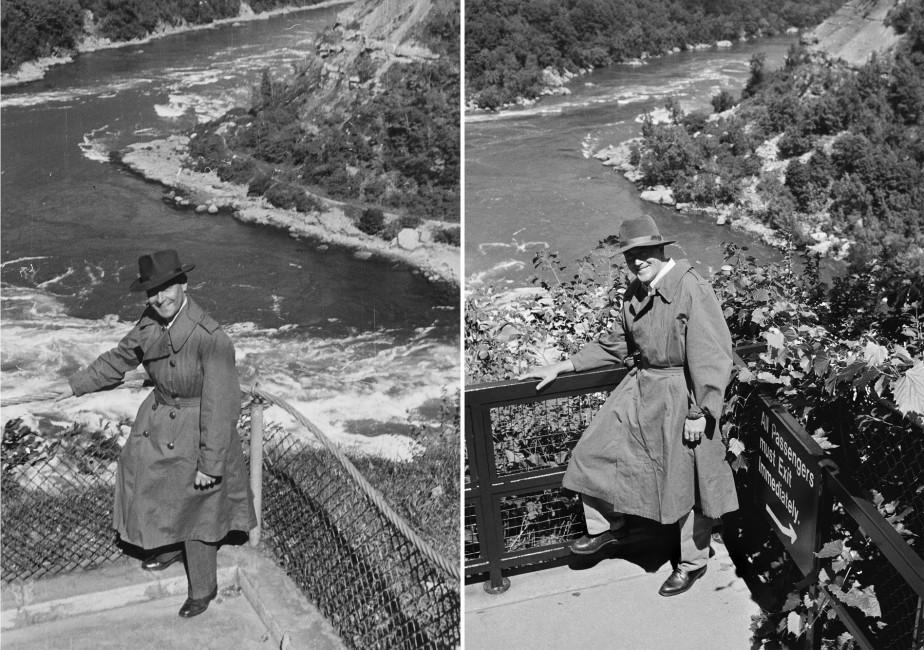Un état des lieux / Bruno Rosier, </span><span><em>Rapides du Niagara / 1952-2002</em>, </span><span>17cm x 12cm