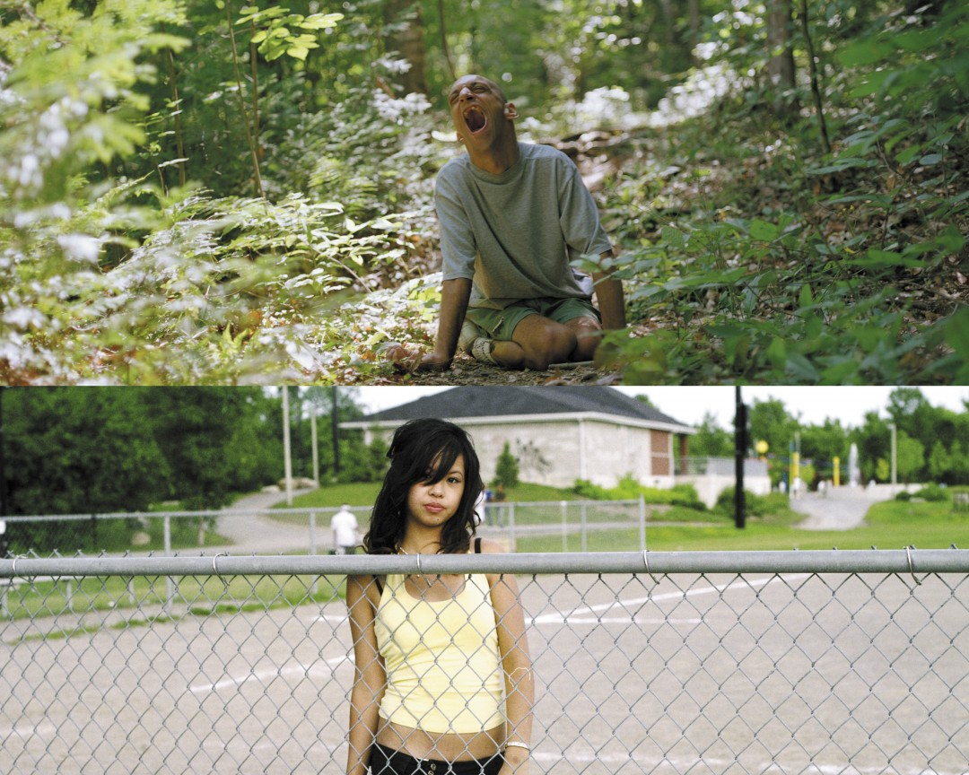 (top) Christophe Jivraj, (bottom) May Truong, both 2005