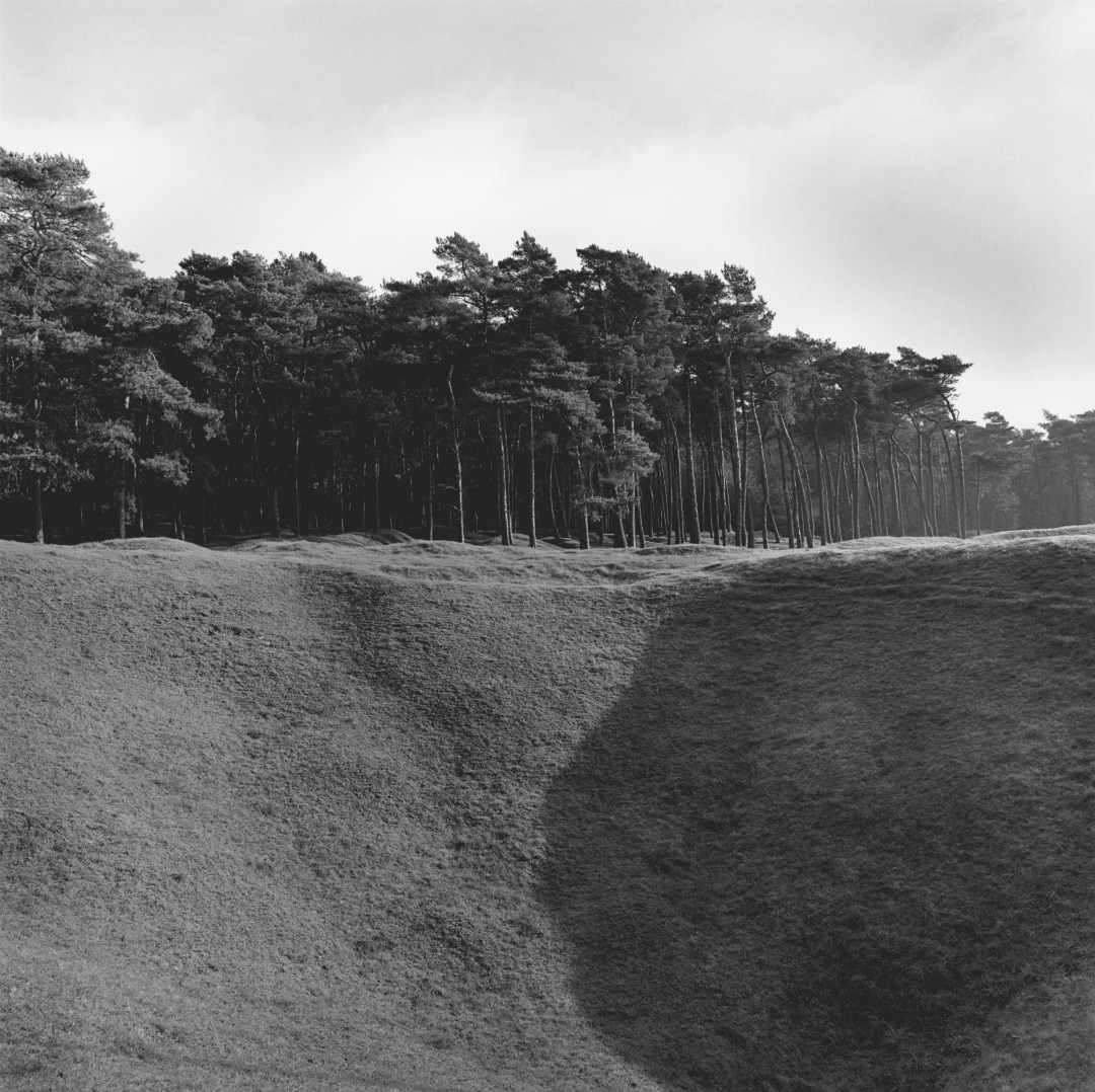 Peter MacCallum, The Broadmarsh Mine Crater on the Preserved Battlefield, 2005, silver print  14