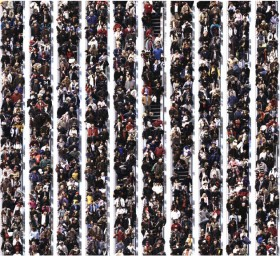 Michael Awad, </span><span><em>Boxing Day, Eaton Centre, Toronto, 2005</em>, </span><span>Digital C-print, edition of 8, 48 X 48 inches