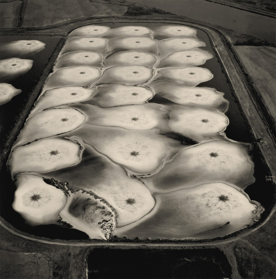 Emmet Gowin, Aeration Pond, Toxic Water Treatment Facility, Pine Bluff, Arkansas, 1989