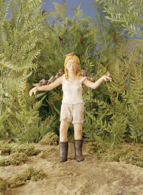Sarah Anne Johnson, </span><span><em>The Birds, 2005</em>, </span><span>,   x