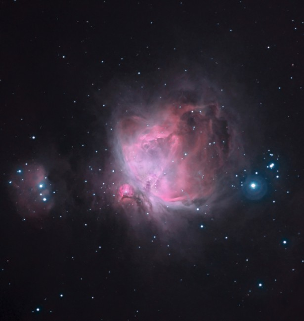Stefano Cancelli, </span><span><em>M42, The Great Nebula in Orion, 2005</em>, </span><span>Processed CCD, multiple exposures, 1733 x 1831