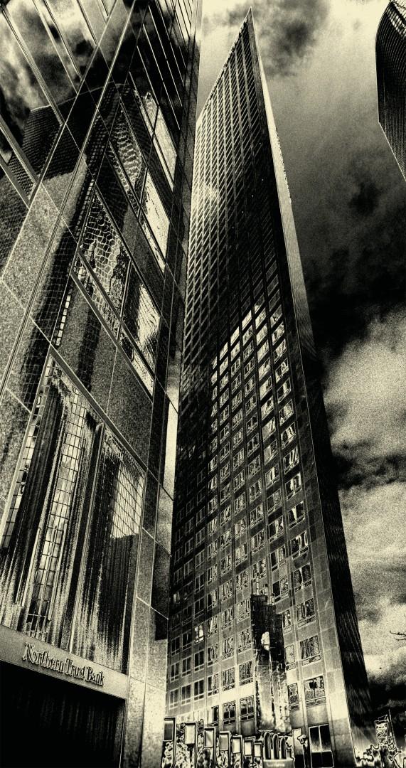 Jiri Vondrak, Metropolis, 2003, Digital print, 18  x 10