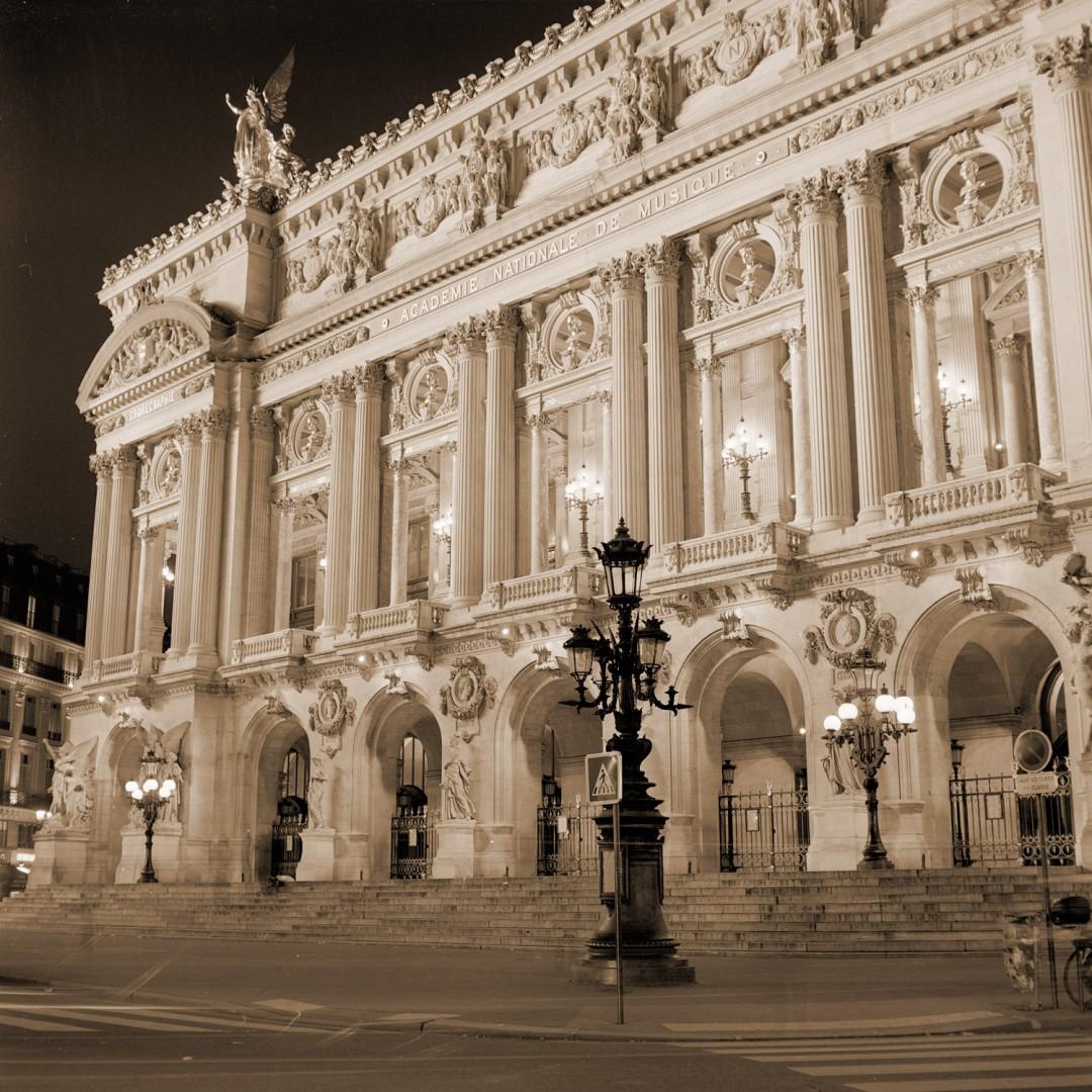Iain Cameron, Garnier Opera, Paris 2006