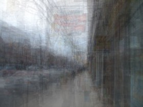 Jon Reed, </span><span><em>Queen Street, 2007</em>, </span><span>Digital Photograph, 57 x 43