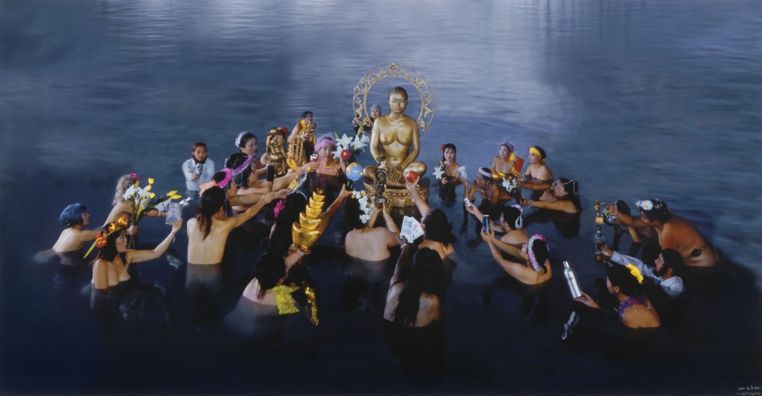 Wang Qingsong, Offering, 2003