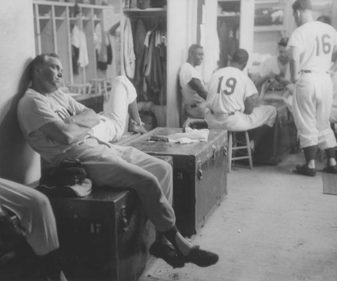 <em>Dodger Clubhouse, 1956</em>