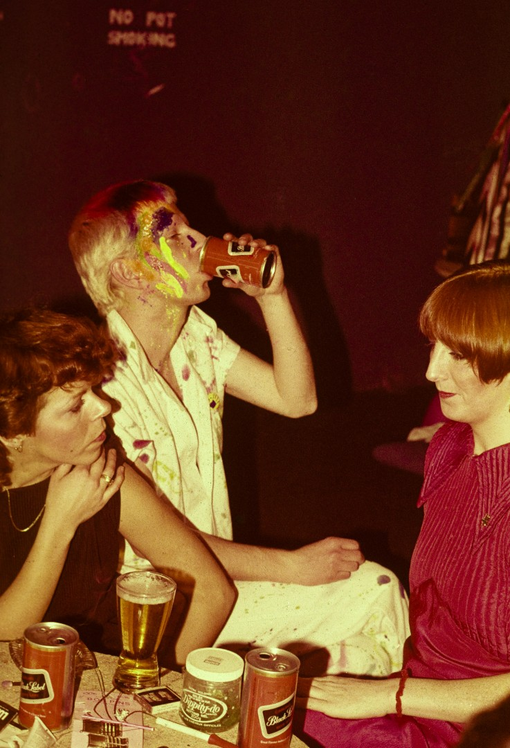 Alice Lipczak, Toronto Club Scene 1980, 20 x 16 inches