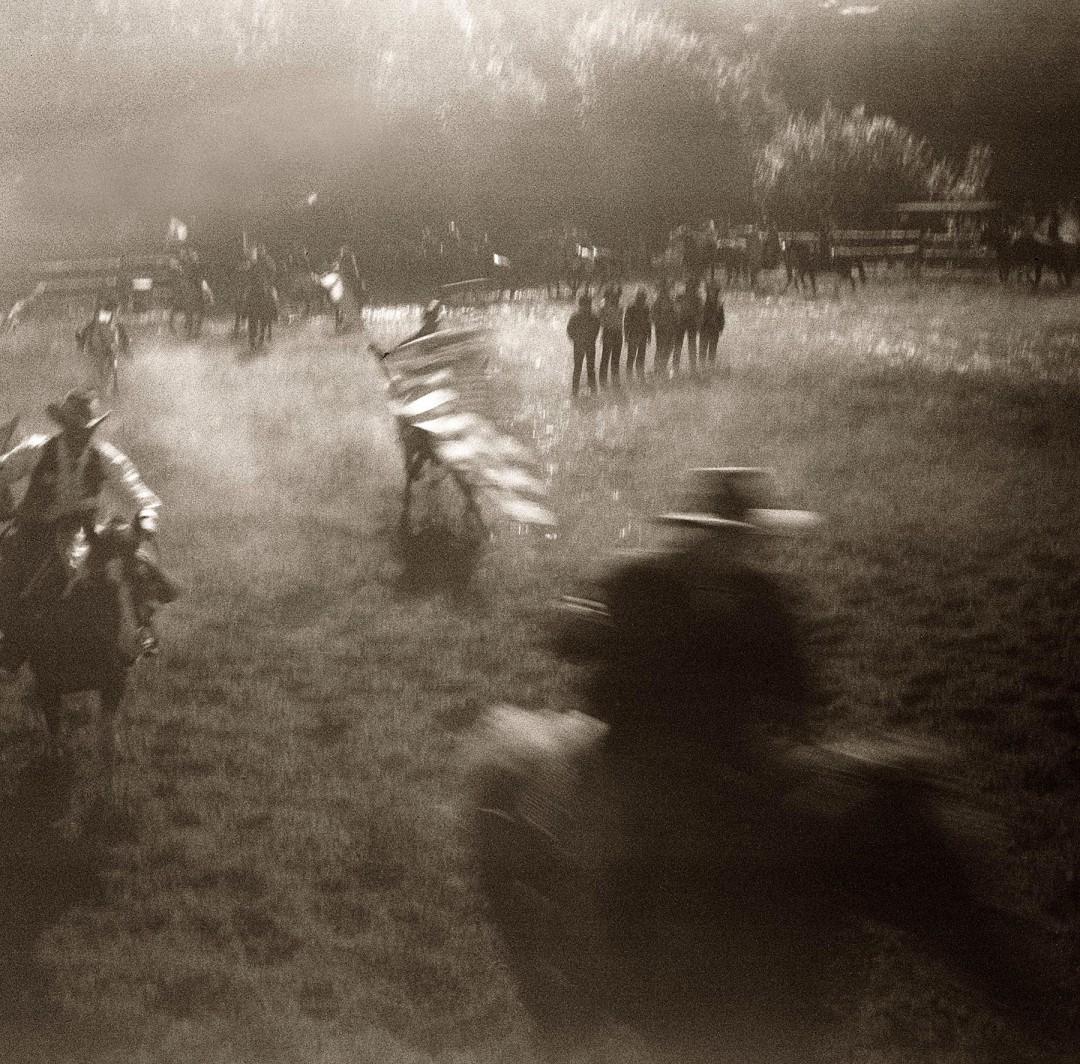 David Trattles, </span><span><em>German Rodeo</em>, </span><span>16 x16