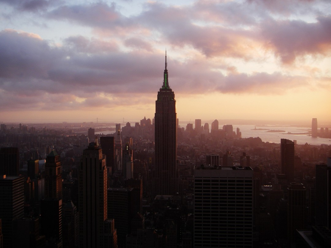 Hairuo Dai, 'Sunset on the Empire State', Nov 25, 2006, Digital,  13 x19