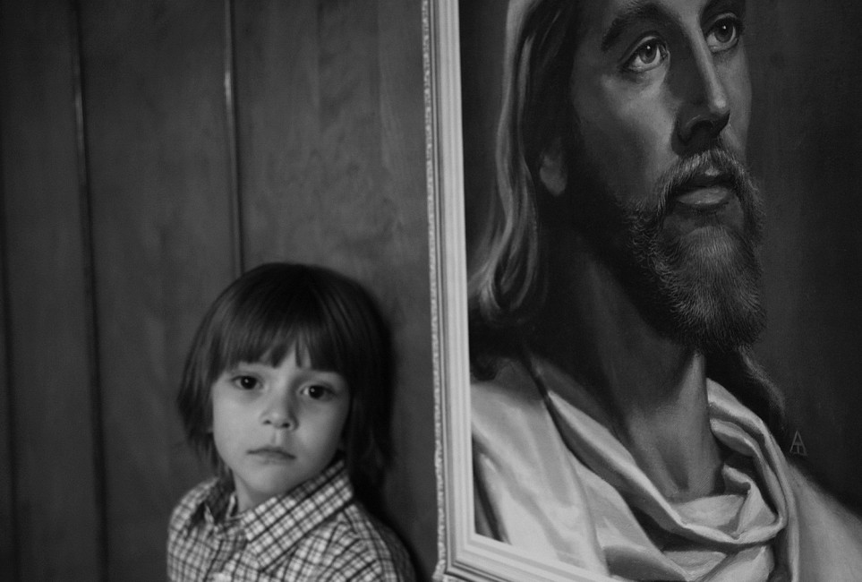Christopher Manousos, </span><span><em>Jesus Kid, 2008</em>, </span><span>12 X 15, C-Print