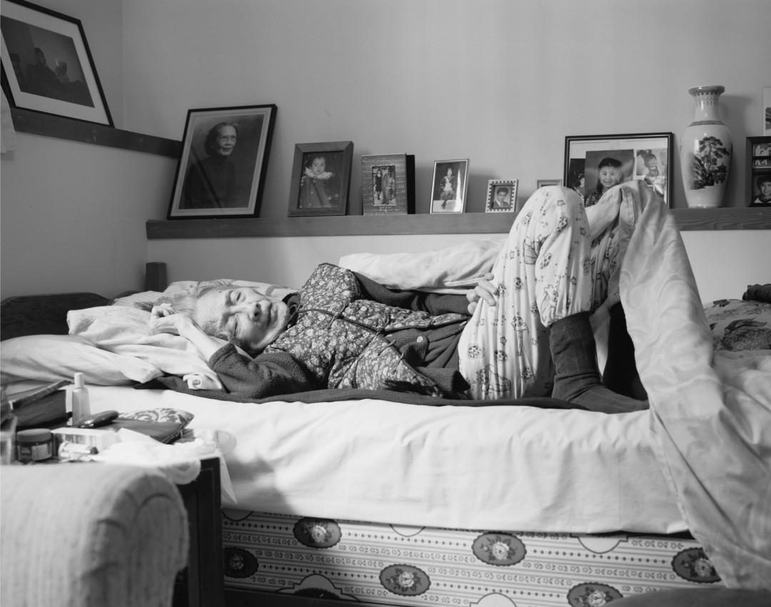 Evan Lee, </span><span><em>Portrait of the Artist's Grandmother, 2007</em>, </span><span>38 x 48 inches