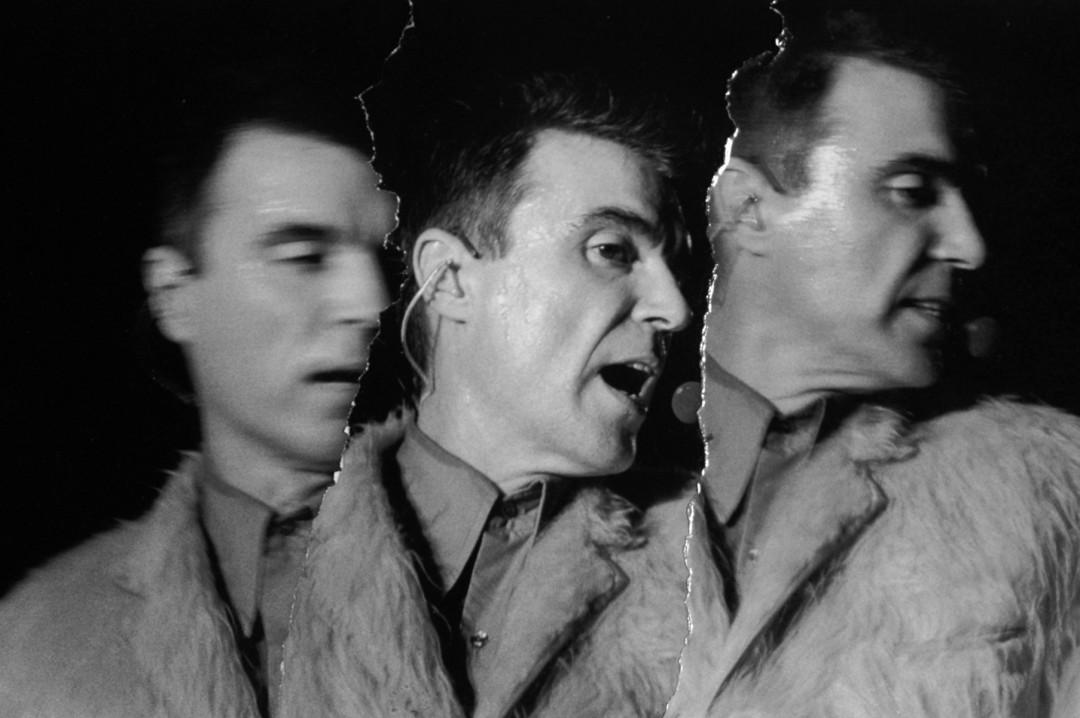 Paul Till, </span><span><em>David Byrne 1998</em>, </span><span>Digital print from silverprint collage 16