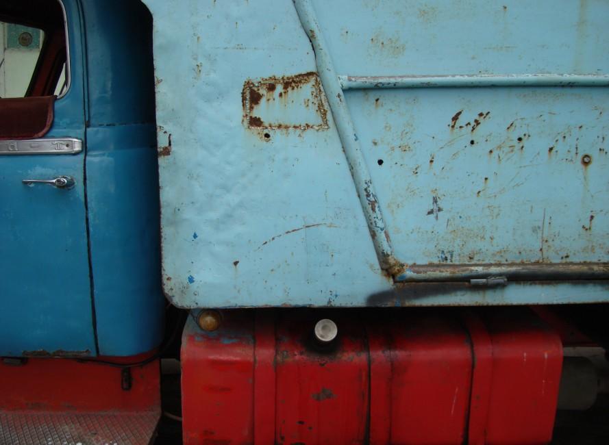 Ben Payne, </span><span><em>RED-BLUE TRUCK, 2007</em>, </span><span>Colour Print, 11 x 14