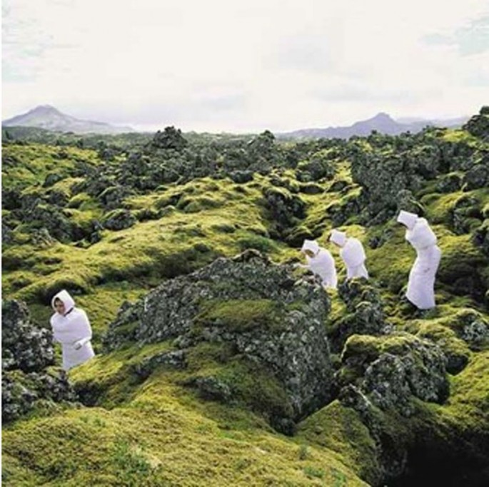 The Icelandic Love Corporation, Where Do We Go From Here, 2005, C print,   70 x 70 cm