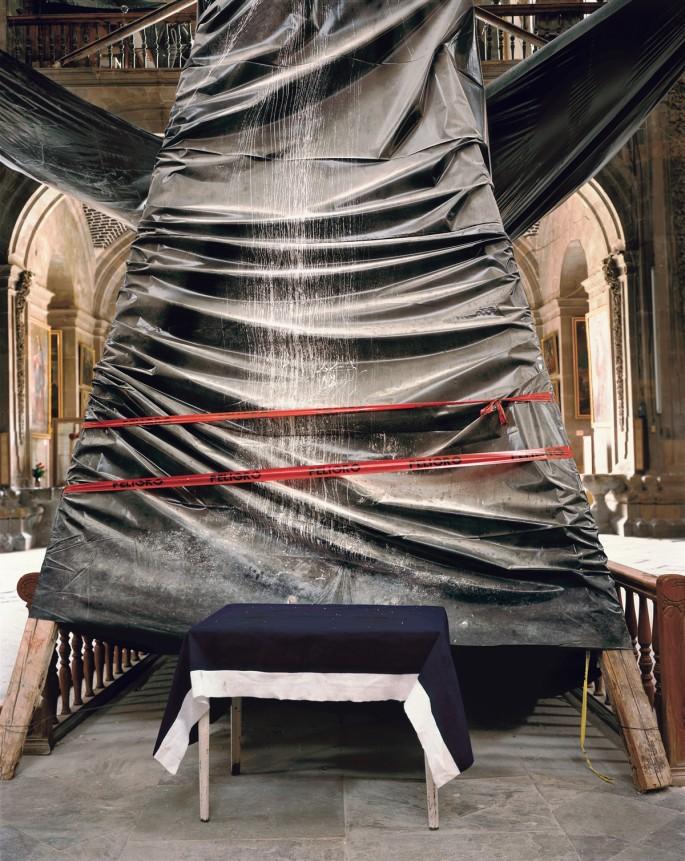 John Bladen Bentley, </span><span><em>Celestial Table, 2006</em>, </span><span>Colour Carbon Transfer,  20 x 24 in.