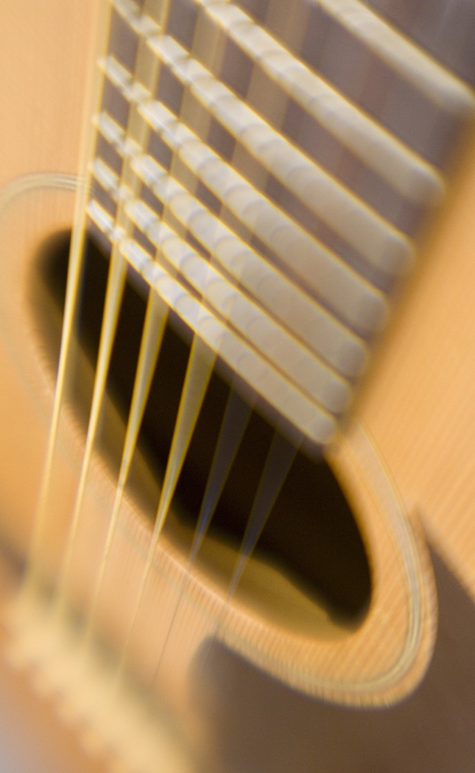 Lydia J. Charak, </span><span><em>Intimate Conversations with Guitar 1, 2007</em>, </span><span>Photograph - giclée print 40