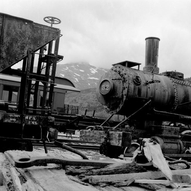 Mark Coatsworth, </span><span><em>Alaskan Rail Coach, 2007</em>, </span><span>Giclee print, 12 x 12