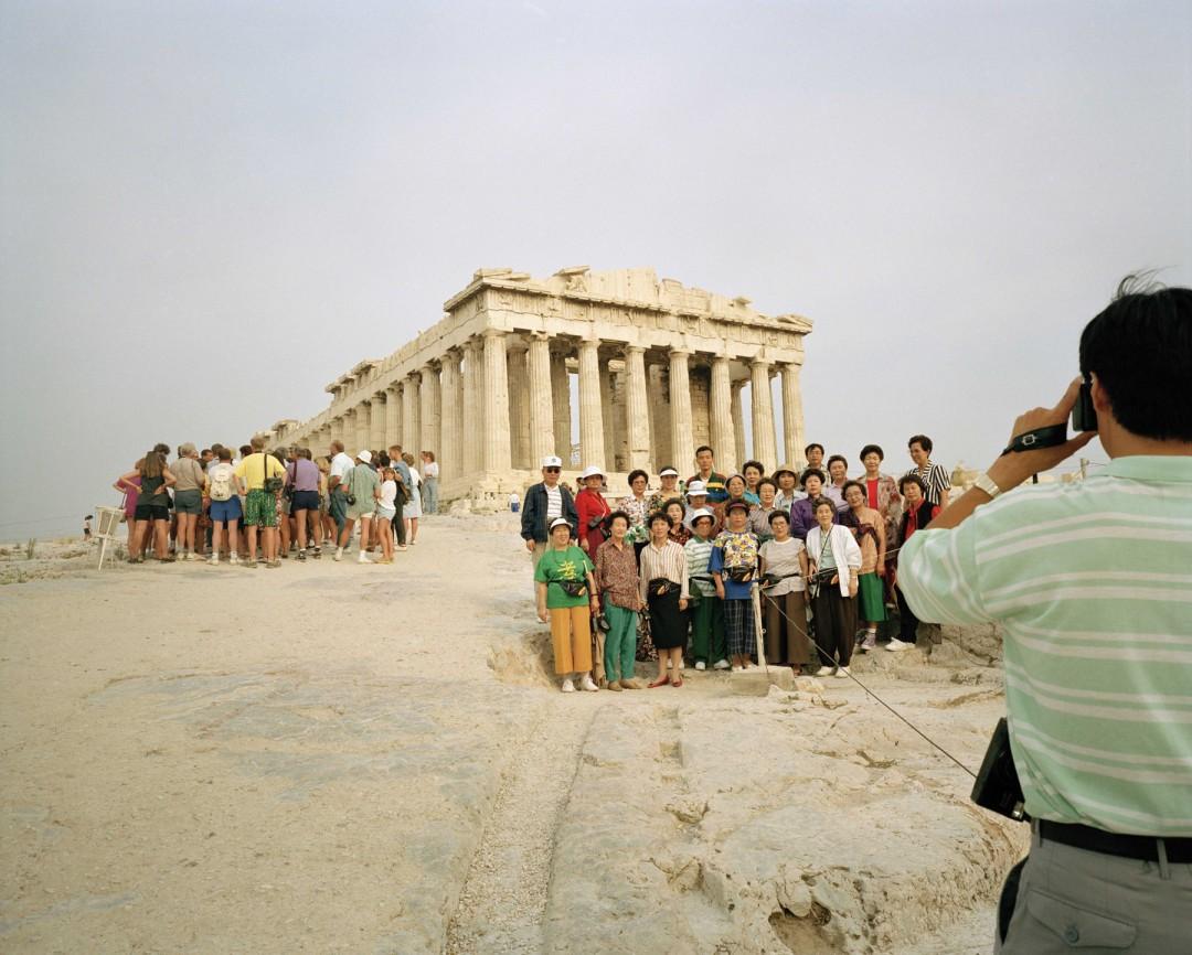 Martin Parr, Greece, Athens, Acropolis, 1991©  Martin Parr/Magnum Photos