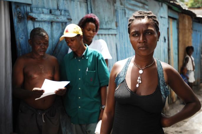 © Julie Rémy / www.julieremy.com, </span><span><em>Pregnant in Pelé Simon, a slum of Port-au-Prince, Haiti, May 2007</em>