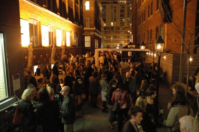 Alice Dixon, </span><span><em>2007 Festival Launch party</em>