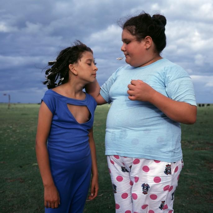 Alessandra Sanguinetti, </span><span><em>The Blue Dress, 2000</em>