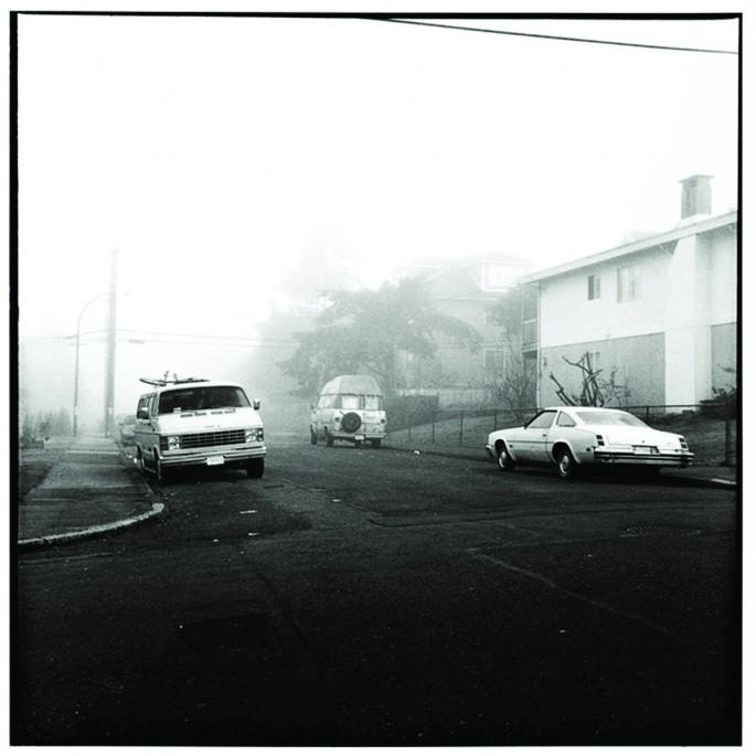 Marco Buonocore, </span><span><em>Three Cars, Fog, Vancouver, 2008</em>