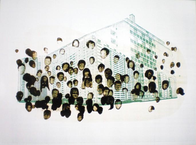 AJ Frick, </span><span><em>Toronto71067176, 2008</em>, </span><span>Unique C-Print, 76.2cmx101.6cm