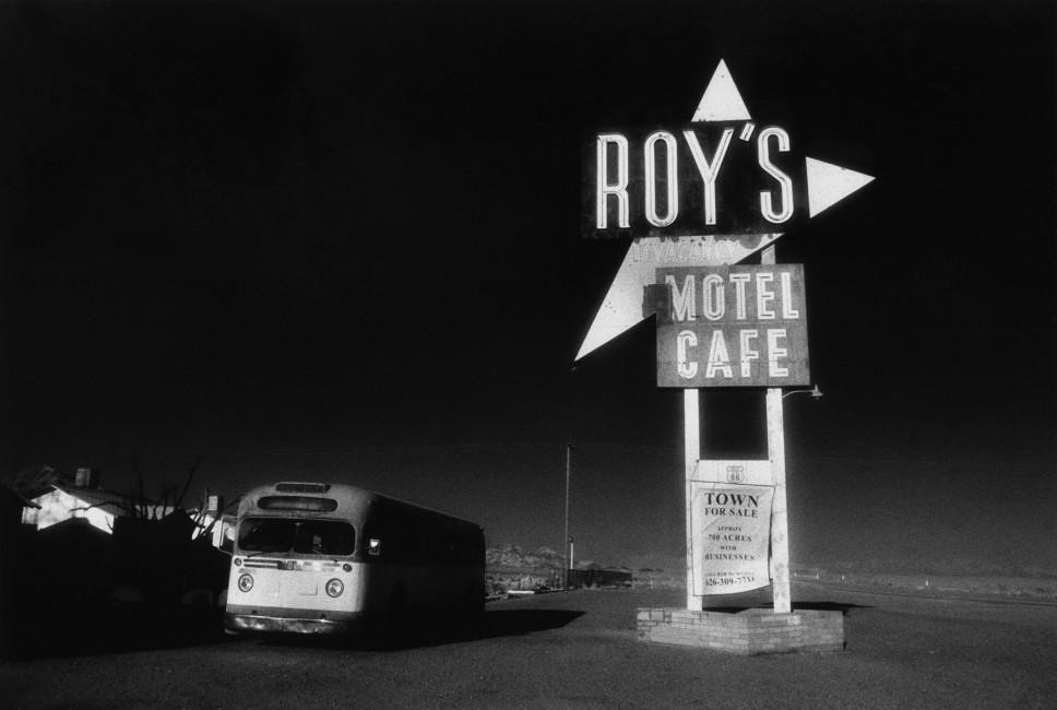 Sandi Wheaton, </span><span><em>Town for Sale - old Route 66, 2004</em>, </span><span>silver gelatin print, 16 x 20