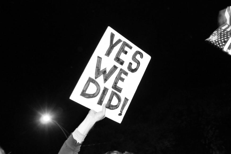 Amanda MacInnis, </span><span><em>Yes We Did</em>, </span><span>Digital, 16x24