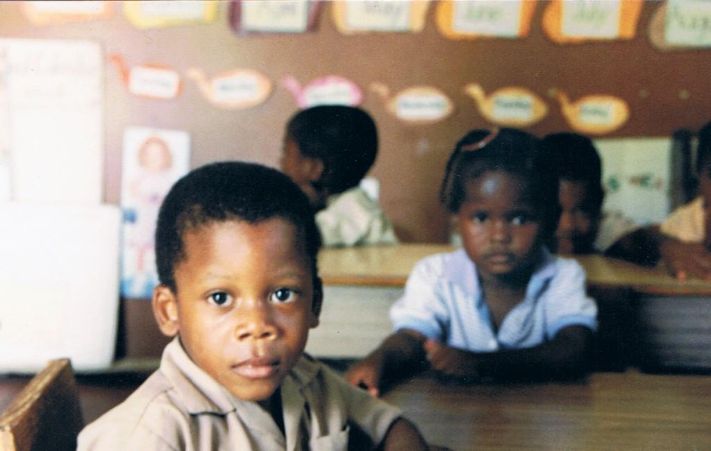 Derrick Haynes, </span><span><em>The Basic Primary School 1</em>, </span><span>16 x 20