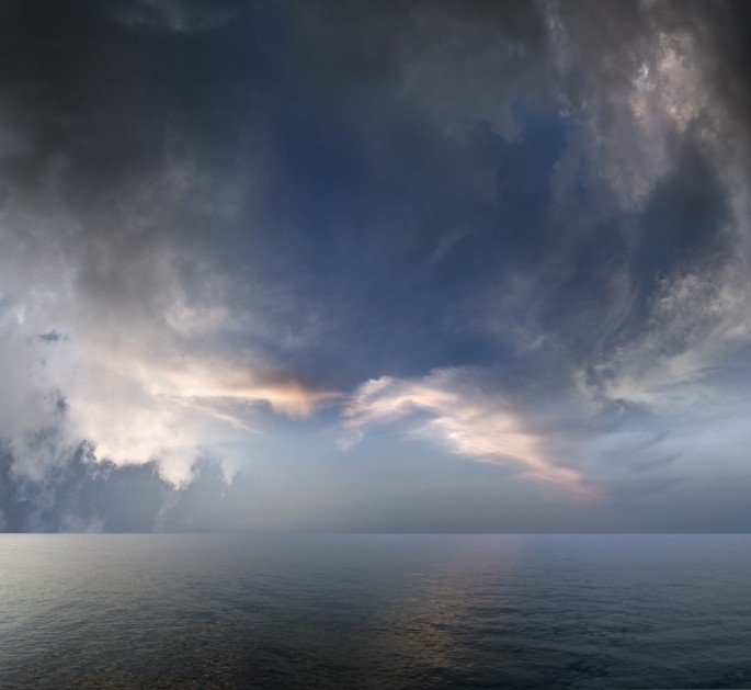 Michael Krauss, </span><span><em>Sea + Sky - One, 2008</em>, </span><span>Giclée print