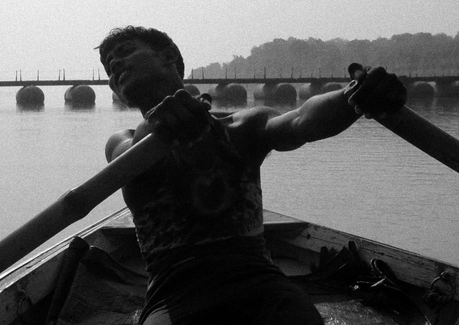 Lora Moretti, </span><span><em>Ganges Rower, 2006</em>, </span><span>Digital, 10
