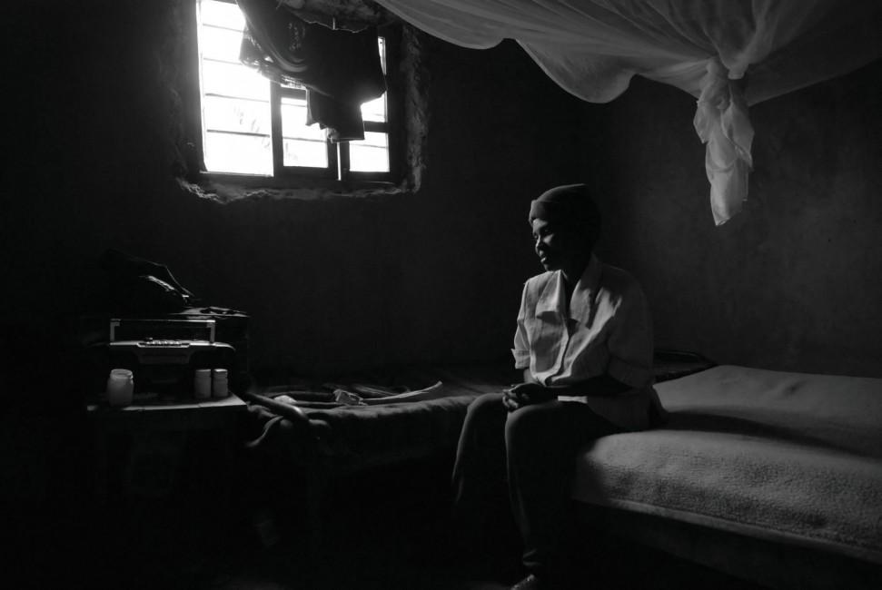 SAMER MUSCATI, </span><span><em>Marie in her bedroom, 2008</em>