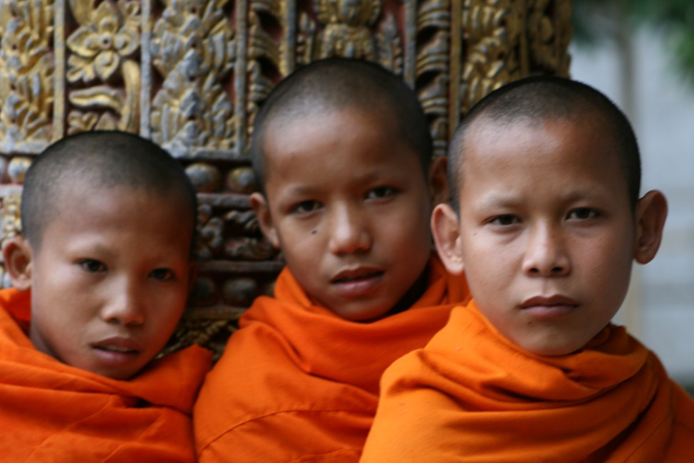 Christine Russell, </span><span><em>Young Monks of the Village, 2008</em>, </span><span>Digital Colour Print