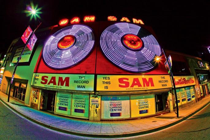 Adam Shax, </span><span><em>Sam The Record Man</em>, </span><span>2008