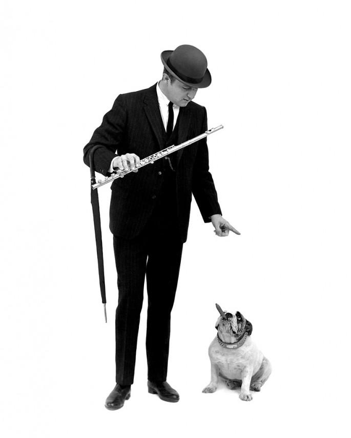 Al Gilbert, </span><span><em>Moe Koffman, Jazz flautist</em>, </span><span>1964