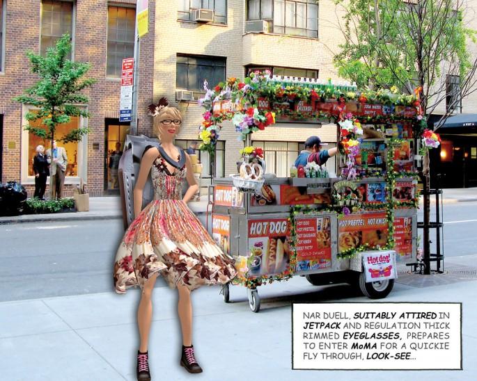 Lynne Heller, </span><span><em>Pushing Art</em>, </span><span>2009