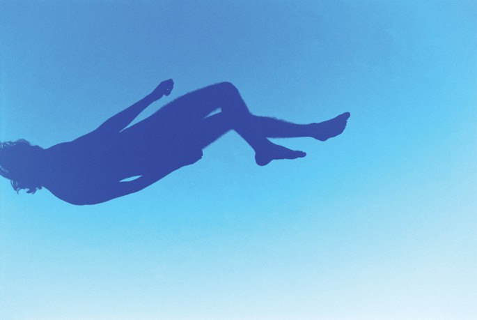 Ryan McGinley, </span><span><em>Blue Falling</em>, </span><span>2007 Courtesy of the artist and Team Gallery, New York