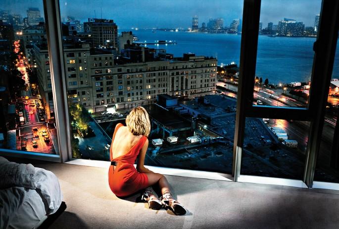 David Drebin, </span><span><em>Girl in the Orange Dress</em>, </span><span>2009