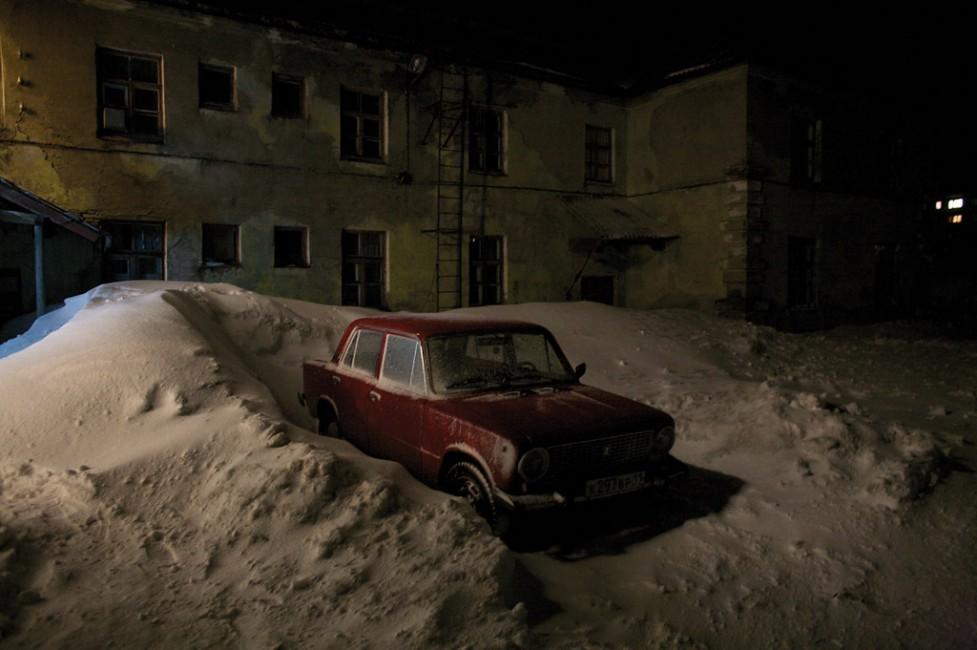 Donald Weber, </span><span><em>Former Prison Barracks, Vorkuta, Russian, 2008</em>, </span><span>