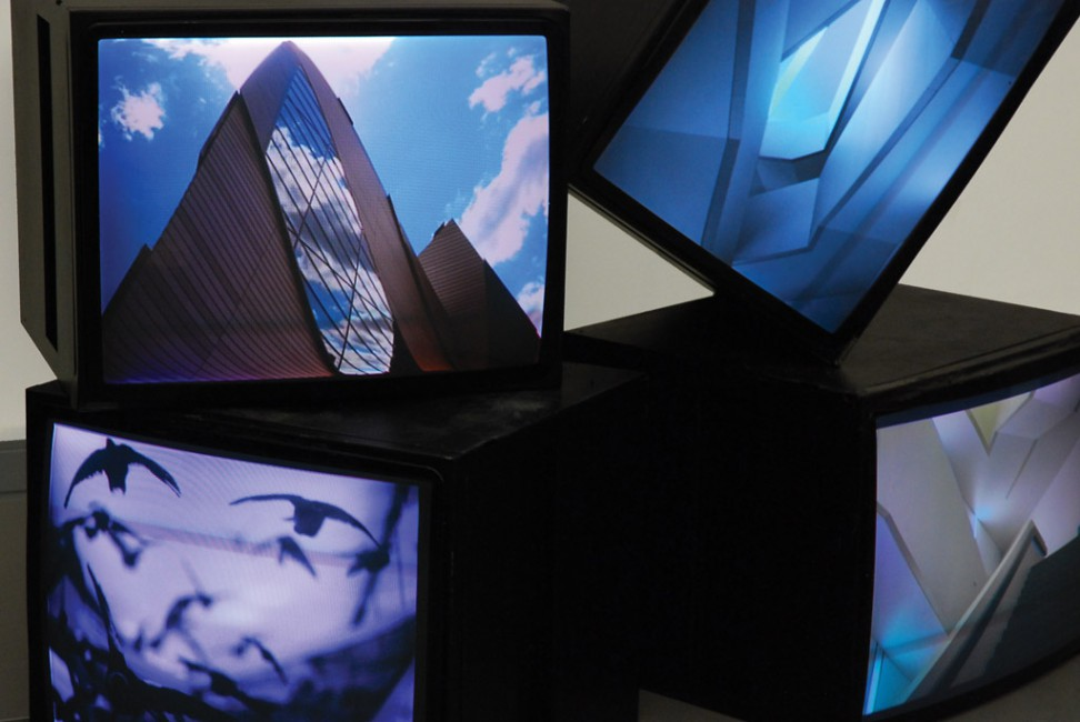 Guillaume Cailleau, </span><span><em>Creative Commons</em>, </span><span>2010 (installation detail)