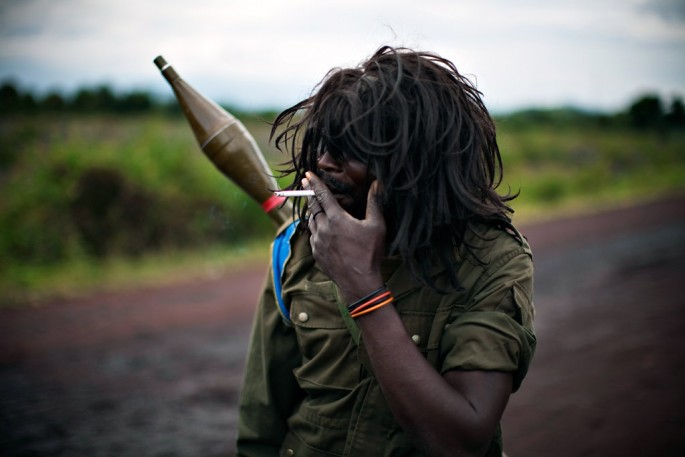 Finbarr O'Reilly, </span><span><em>Congolese Government Soldier, from the series Congo on the Wire</em>, </span><span>2008 REUTERS/Finbarr O'Reilly