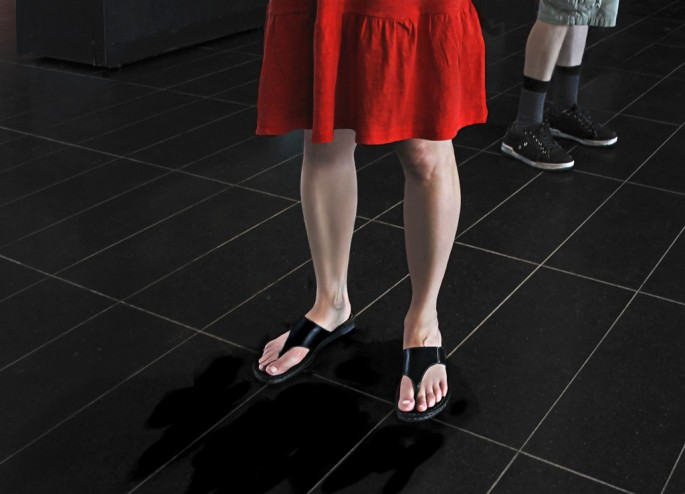 Brenda Hoffert, </span><span><em>In Line</em>, </span><span>2010 © 2010 Brenda Hoffert