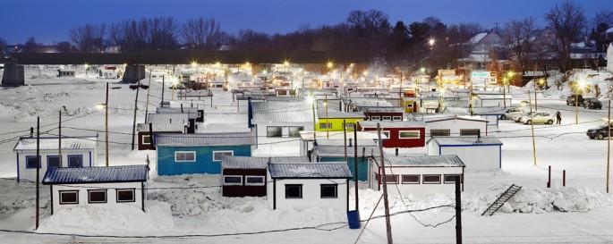 Richard Johnson, </span><span><em>Ice Village # 16, Saint-Anne-de-La-Pérade, Quebec</em>, </span><span>2010