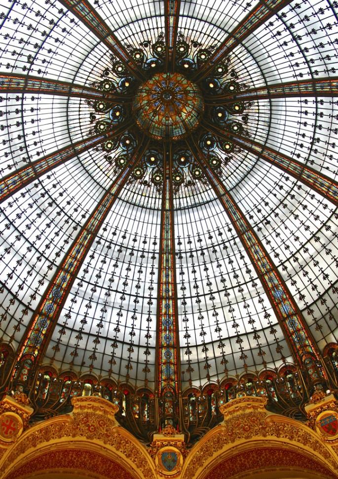 Dieter Hessel, </span><span><em>Art Nouveau Dome</em>, </span><span>