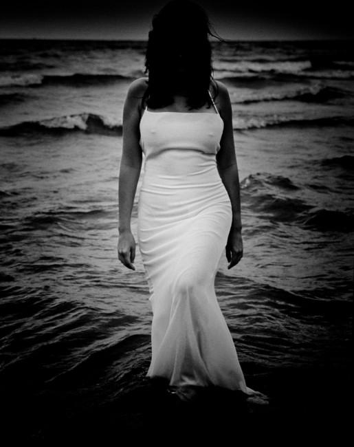Rob Doda, </span><span><em>Wet White Dress 3</em>, </span><span>1995