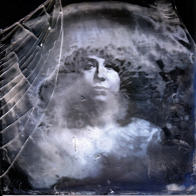 Cory Blundon, </span><span><em>Jessica #1, from The Ambrotype Failures Project</em>, </span><span>2009