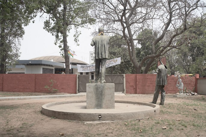 Guy Tillim, </span><span><em>Statues of Kwame Nkrumah, reinstated at the National Museum in Accra, Ghana</em>, </span><span>after having being torn down during a military coup in 1977 Courtesy of Kuckei + Kuckei, Berlin and Stevenson, Cape Town/Johannesburg